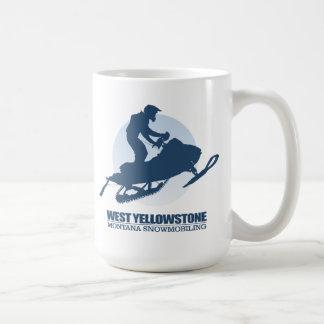 Caneca De Café Yellowstone ocidental (manutenção programada)