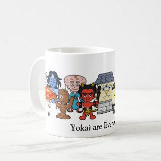 Caneca De Café Yokai está em toda parte: Monstro japonês feito