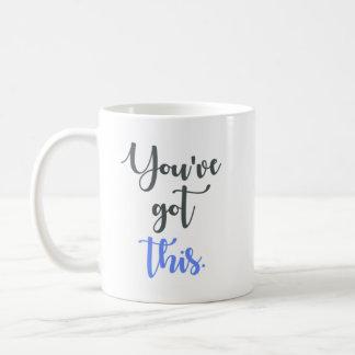 Caneca De Café You've obteve esta caligrafia