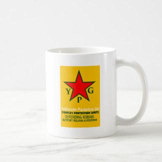 Caneca De Café ypg-ypj - kobani do apoio