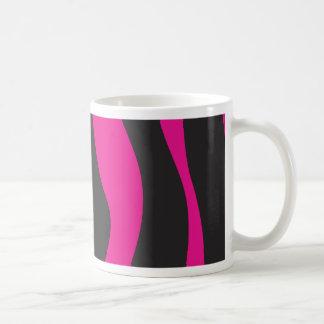 Caneca De Café Zebra cor-de-rosa