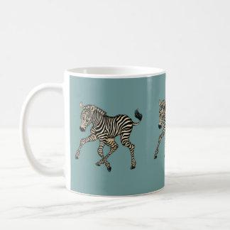 Caneca De Café zebra do bebê