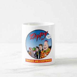 Caneca De Café Zippy/Pinheads esteja em toda parte