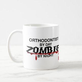 Caneca De Café Zombi do Orthodontist