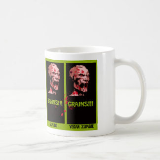 Caneca De Café zombi do vegan