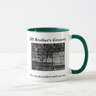 """Caneca De """"caneca trocista da mercearia do irmão Bill"""""""
