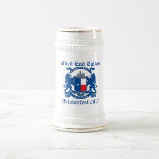 Caneca de cerveja 2017 de Dallas Oktoberfest da