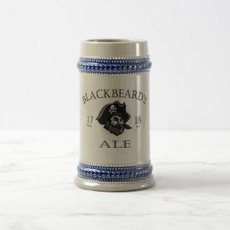 Caneca De Cerveja A cerveja inglesa de Blackbeard