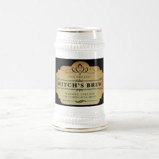Caneca De Cerveja A fermentação da bruxa orgânica