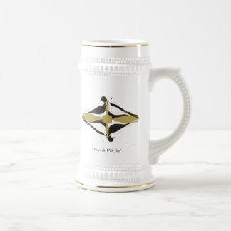 Caneca De Cerveja A paz seja com você!