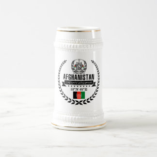 Caneca De Cerveja Afeganistão