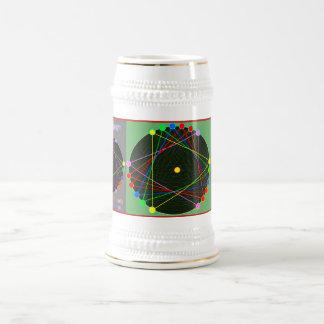 Caneca de cerveja afortunada da cerveja da cor