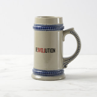 Caneca De Cerveja Arte do amor da revolução