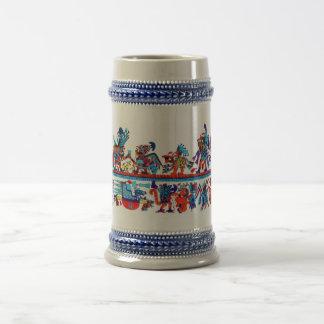 Caneca De Cerveja arte replicate do moche