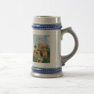 Caneca De Cerveja As abóbadas da cebola de Rússia