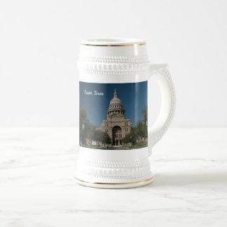 Caneca De Cerveja Austin, construção do Capitólio de TX