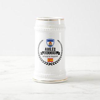 Caneca De Cerveja Avilés