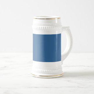 Caneca De Cerveja Azul da cor da Web do código do Hex #336699