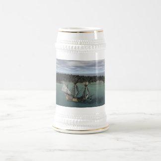 Caneca De Cerveja Baía do navio