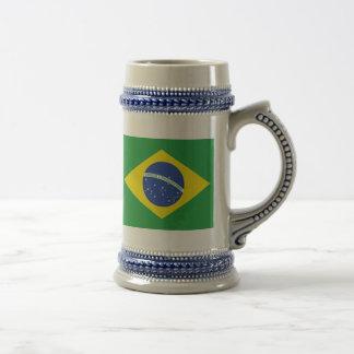 Caneca De Cerveja Bandeira de Brasil