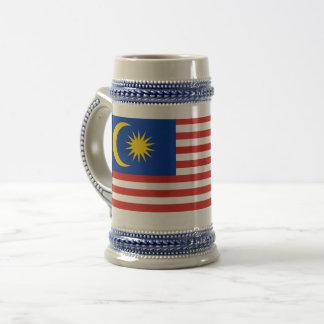 Caneca De Cerveja Bandeira de Malaysia Jalur Gemilang