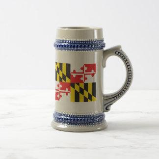 Caneca De Cerveja Bandeira de Maryland