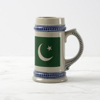 Caneca De Cerveja Bandeira de Paquistão