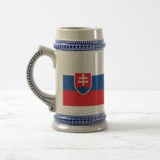 Caneca De Cerveja Bandeira de Slovakia