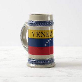 Caneca De Cerveja Bandeira de Venezuela
