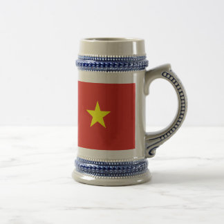 Caneca De Cerveja Bandeira de Vietnam
