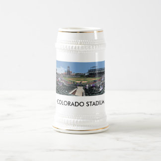 Caneca De Cerveja Bandeja do campo de Coors, ESTÁDIO de COLORADO