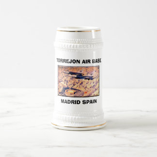 Caneca De Cerveja BASE AÉREA de TORREJON, ESPANHA de MADRID -