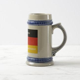 Caneca De Cerveja Baterista suíço da casa