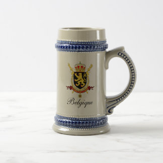 Caneca de cerveja belga da cerveja - cristas