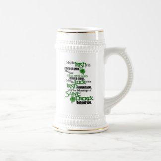 Caneca De Cerveja Bênção do santo Patrick