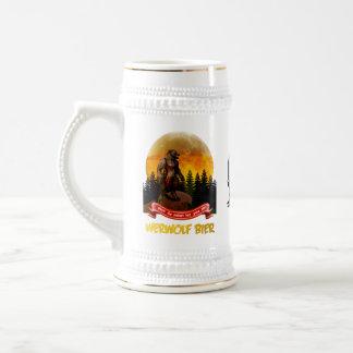 Caneca De Cerveja Bier de Werwolf do alemão - homem-lobo bávaro