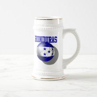 Caneca De Cerveja Bola 2014 da bandeira de Brasil Honduras do