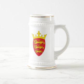 Caneca De Cerveja Brasão do jérsei