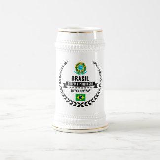 Caneca De Cerveja Brasil