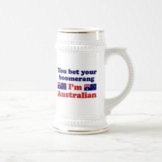 Caneca De Cerveja Bumerangue australiano