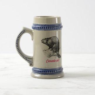 Caneca De Cerveja Castor Canadá eh?  Rota do farol