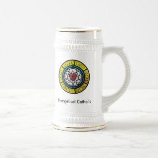 Caneca de cerveja católica evangélica