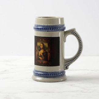 Caneca De Cerveja Cerveja de Mona lisa - de Mona lisa - lisa-cerveja