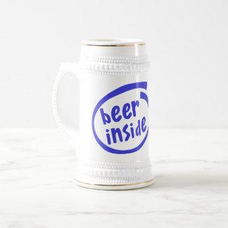 Caneca De Cerveja Cerveja para dentro