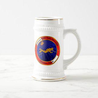 Caneca De Cerveja Clube rachado do mergulho das caudas
