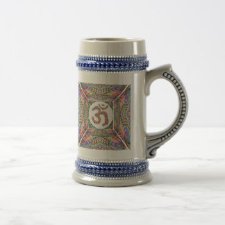 Caneca De Cerveja Coleção da jóia da mantra do OM