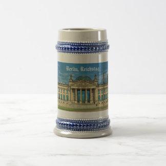 Caneca De Cerveja Construção de Reichstag em Berlim