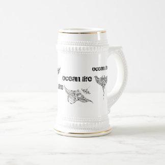 Caneca De Cerveja copo da vida AOTEAROA do oceano