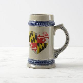 Caneca De Cerveja Coração de Maryland