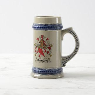 Caneca De Cerveja Crista da família de Bamberga
